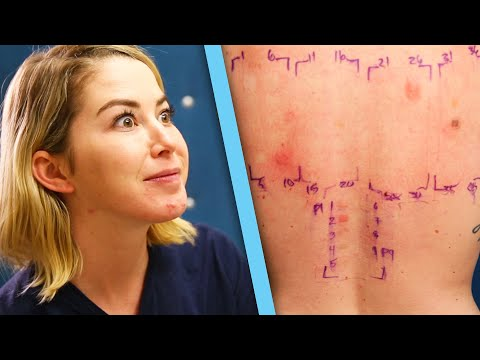 Women Get Makeup Allergy Tests Mp3