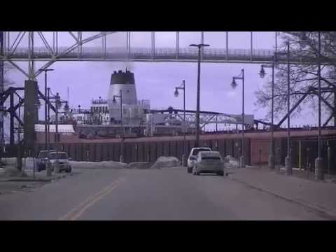 Roger Blough - Soo Locks SSM April 2014 - Lake Freighter