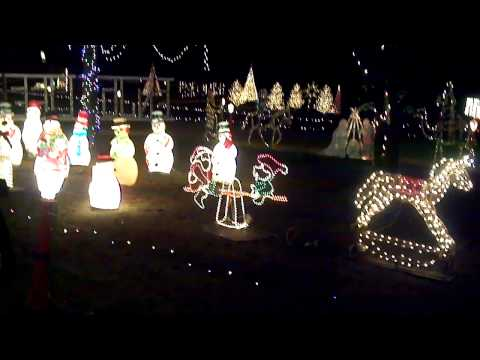 Rossville Indiana Christmas lights 2013