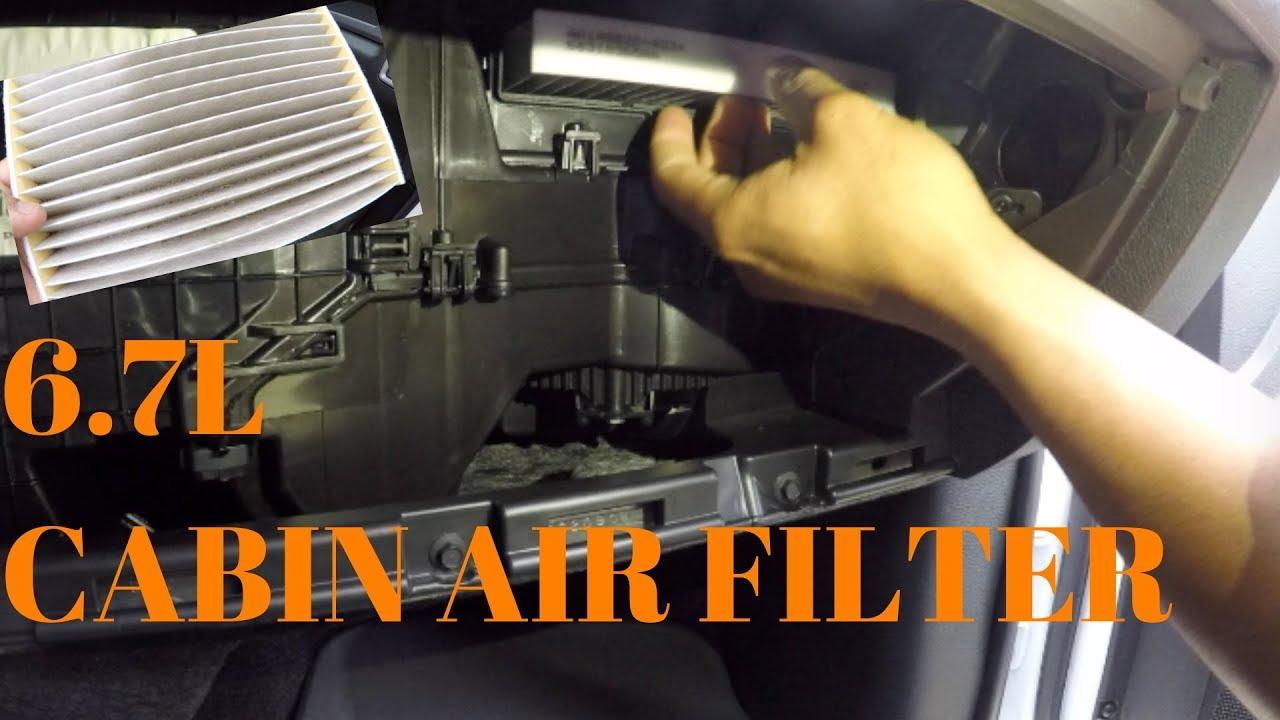 2009 2018 ram cabin air filter replacement  [ 1280 x 720 Pixel ]