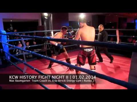 KCW History Fight Night II 01.02.2014 - Kampf 8 - Max Baumgarten vs  Eray Biricik