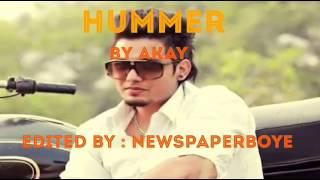 Akay - Hummer   Latest Punjabi Song   Deep Jandu   Lyrics Video
