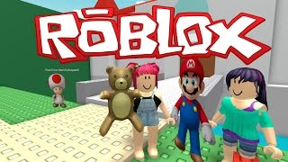 roblox   mario adventure   rescuing princess peach with salems lady   amy lee33