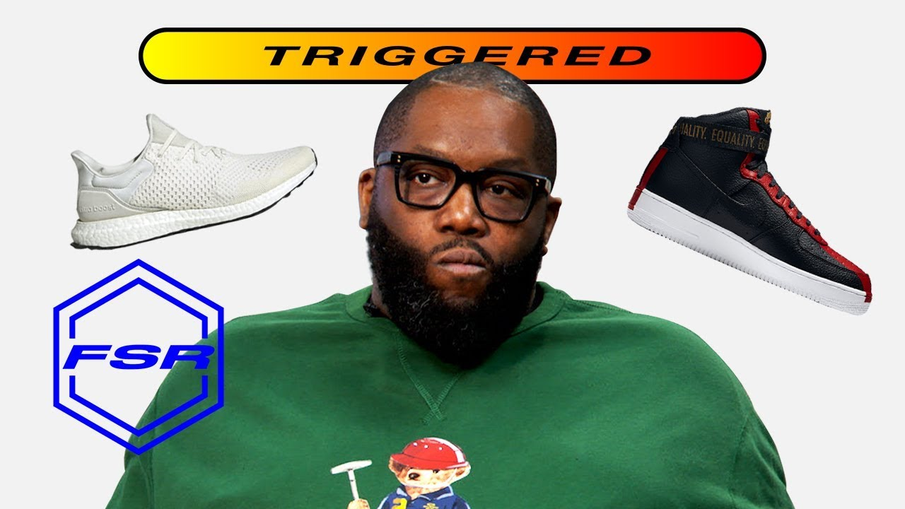 Killer Mike Gets Triggered By Sneakers