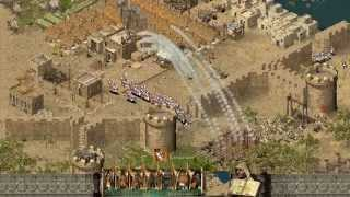 Stronghold Crusader HD - 1v1 Domination | Multiplayer Gameplay