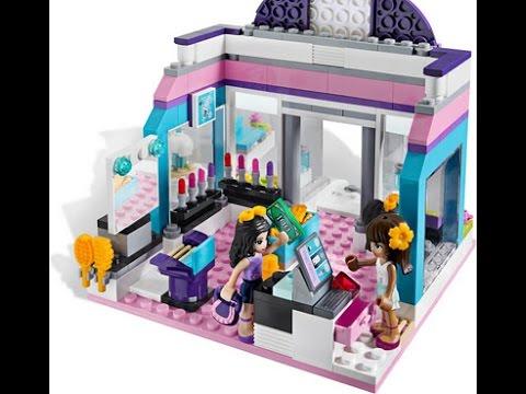 Lego Friends El Salon De Belleza Mariposa Lego Juguetes Infantiles