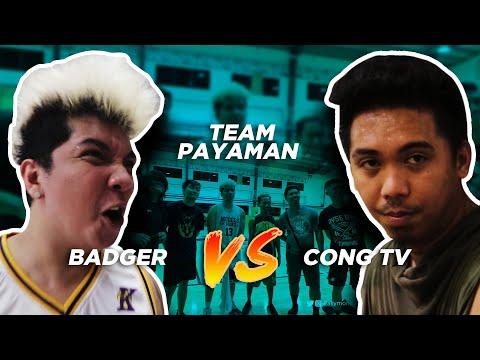 BADGER vs CONG TV (sa wakas nagkaharap din tayo)