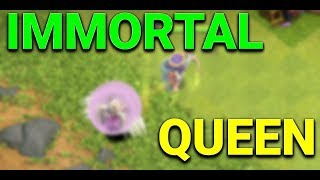 THE IMMORTAL ARCHER QUEEN Clash of Clans | ARCHER QUEEN WITH 15 HEALERS CAN SHE SURVIVE!?