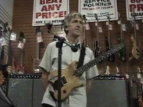 Allan Holdsworth - Sam Ash Music 2005 Clinic Part One