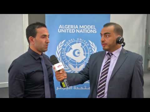 Algeria MUN Open Day in Algiers 2017