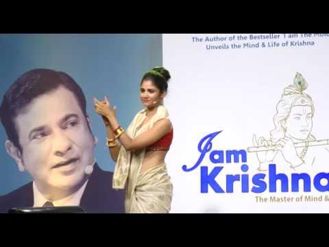 """Tv Actress Ratan Rajput Talks While Release Of Deep Trivedi's Book """"I Am Krishna"""""""