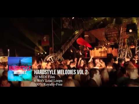 FL Studio 11: Hardstyle Melody Pack #2 (HD) (20 MIDI Files)