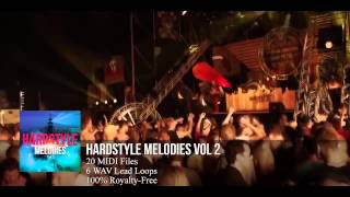 FL Studio 11: Hardstyle Melody Pack #2 (HD) (20 MIDI Files)