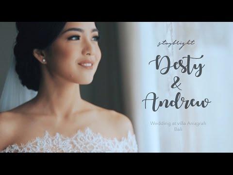 Wedding Andrew & Desty // Villa Anugrah // StayBright | Bali Wedding Videography