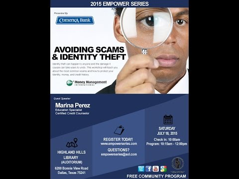 Marina Perez - Avoiding Scams and Identity Theft | Empower Series