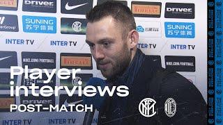 INTER 4-2 AC MILAN | DE VRIJ + VECINO + PADELLI EXCLUSIVE INTERVIEWS [SUB ENG]