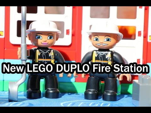 LEGO DUPLO: New Fire Station (Set 10593) - Feuerwehr-Hauptquartier ...