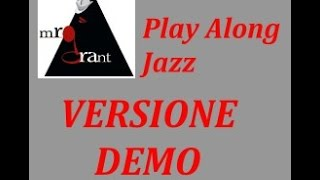 On a Clear day - DEMO  Video-Play-Along-Jazz