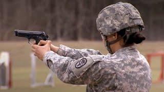 US-Kameraden üben für das Leistungsabzeichen der Bundeswehr