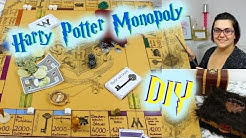 Harry Potter Monopoly I DIY I Selbstgemacht