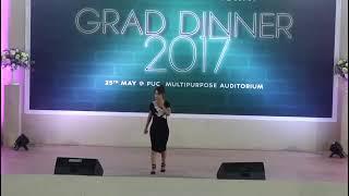 Ruatfeli Triau Trackx -  Khawnge I awm  PUC Grad Dinner 2017
