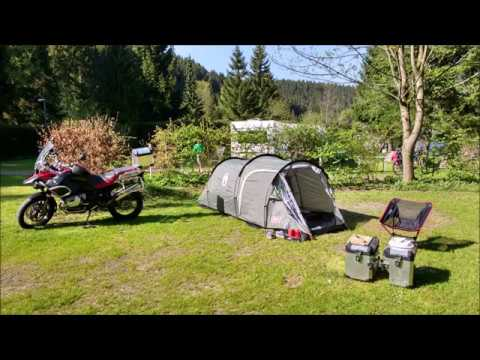 Motorcycle Camping Gear.