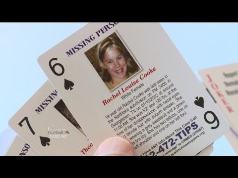 Inmate playing cards could crack cold cases