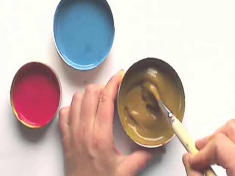 Braun mischen so gelingt es - YouTube