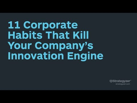 StratChat - 11 Corporate Habits That Kill Your Company's Innovation Engine