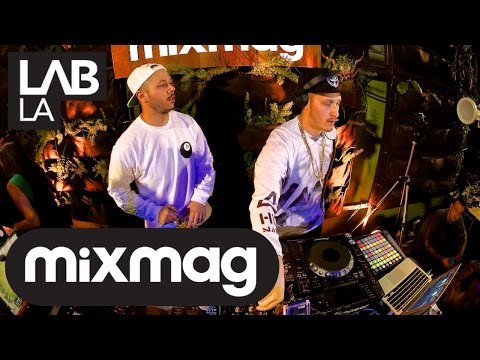 FLOSSTRADAMUS trap and hip hop DJ set in The Lab LA