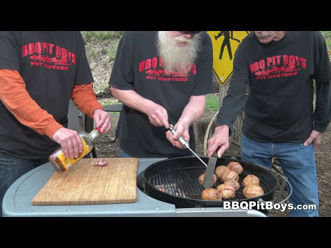 Fireball Whiskey Meatballs by the BBQ Pit Boys
