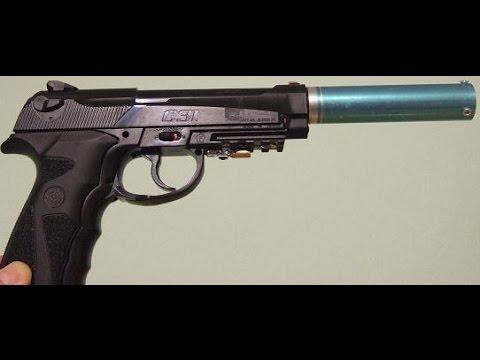 Crossman C21 BB pistol review - YouTube