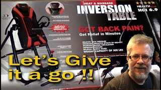 Inversion Table Product Review - Setup And Testing