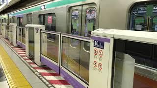 【東武スカイツリーラインでは初】東京メトロ半蔵門線・東武スカイツリーライン押上駅にて ホームドア動作の様子を撮影