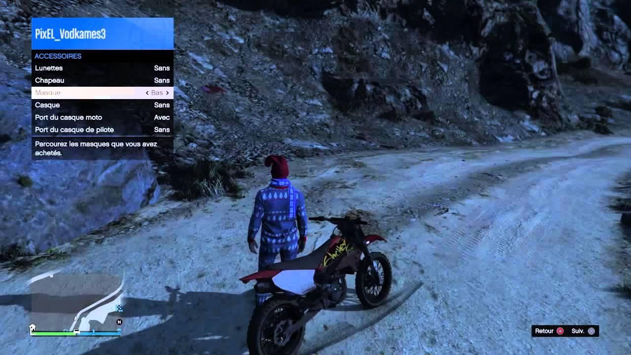 Gta v casque moto