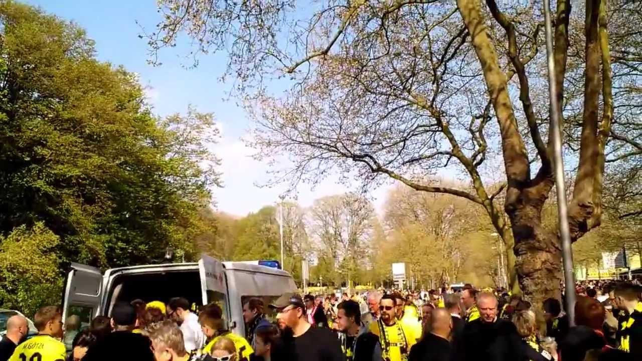 Borussia Dortmund - Fc Bayern 04-05-2013 Westfalen Stadium