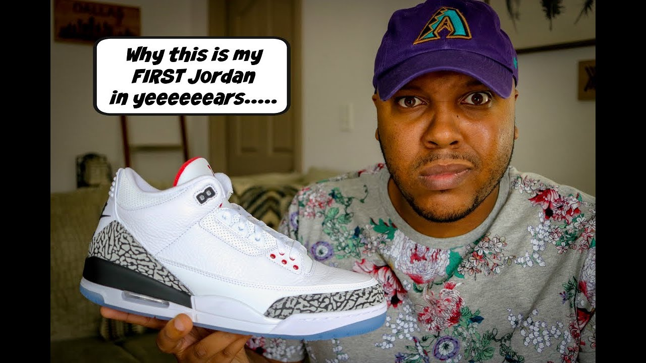 70d95a227608 Air Jordan 3 Free Throw Line + Why I haven t bought Jordan s in ...