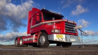 Sound Recording Session - Scania V8