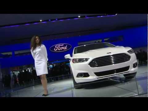 Checking out the new Ford Fusion