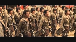 [RUS]Трейлер фильма Атака титанов / Вторжение титанов / Shingeki no Kyojin  на русском