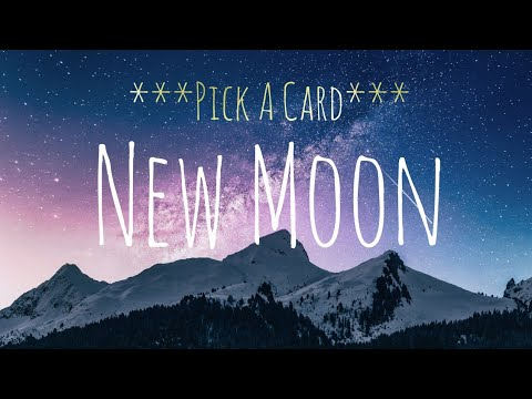 NEW MOON BLESSINGS *PICK A CARD* NEXT SIX MONTHS!