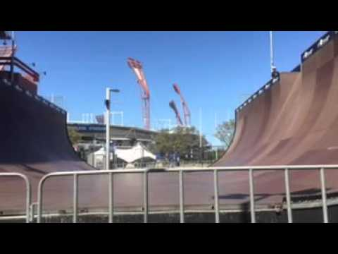 Mega Ramp At Monster Skate Park