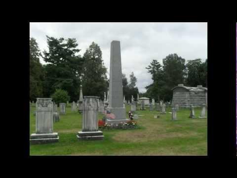 Martin Van Buren Grave + Home