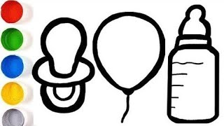 Bolalar uchun pufay rasm chizish/Рисуем пышную картинку для детей/Draw a puffy picture for kidsht