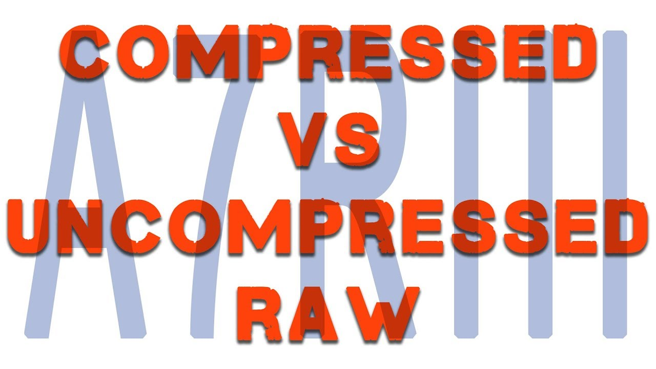 Comparing Compressed and Uncompressed Raw with the Sony A7RIII