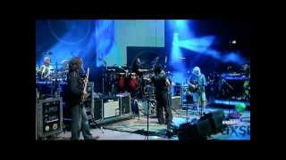 """String Cheese Incident """"After Midnight~Outside Inside"""" with Anders Osborne @ Red Rocks 7/27/13"""
