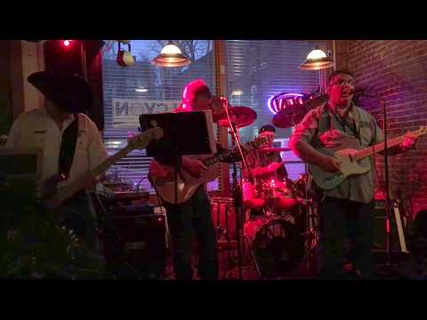 Thunder Creek Band performing at Harbor Halcyon Speakeasy 4/28/18