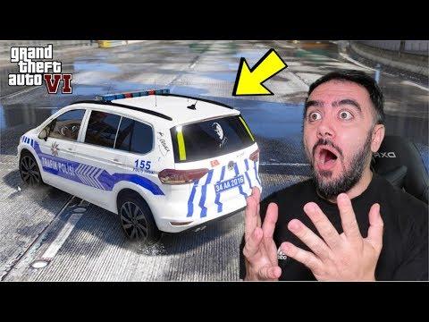 GTA 6 MOD YENI TÜRK POLIS ARABALARINI DENEDIM (GTA 5)