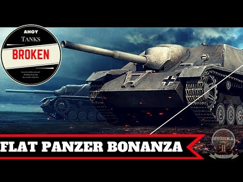 JFPZIV Flat Out Monster World of Tanks Blitz