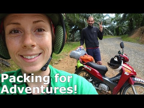 How To Pack for an Asian Motorbike Adventure!